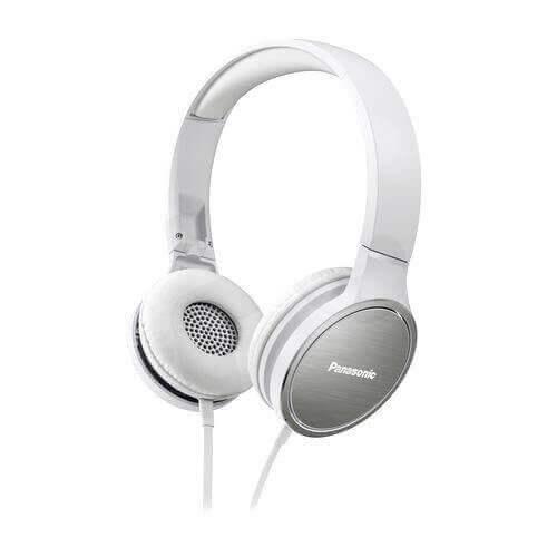 Audífono Panasonic Street Rp-hf500 blancos
