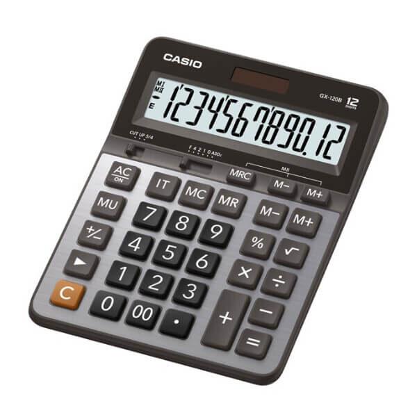 Calculadora de la marca casio para escritorio modelo hgx-120
