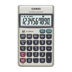 calculadora de bolsillo casio lc-1000