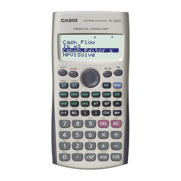 calculadora financiera fc-100v