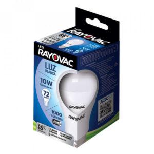 caja de ampolleta de la marca rayovac de 10w en luz blanca