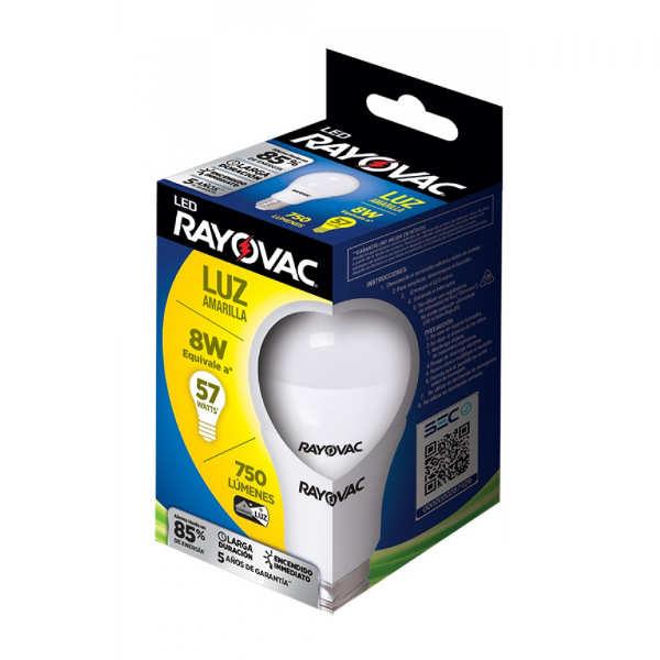 ampolleta 8w marca rayovac luz calidad
