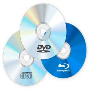 DVDs y CDs